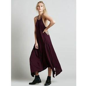Free People So Softly Apron dress purple L